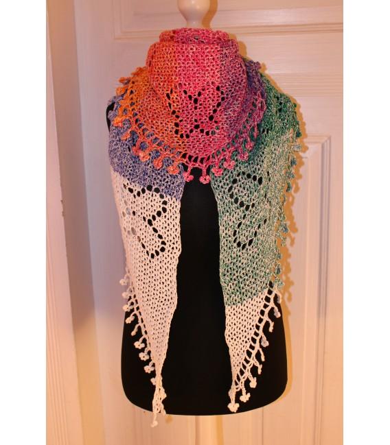 """Crochet Pattern shawl """"Zauber der Schmetterlinge"""" by Maike Ohlig - image 1"""