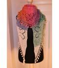 Zauber der Schmetterlinge - crochet pattern - shawl