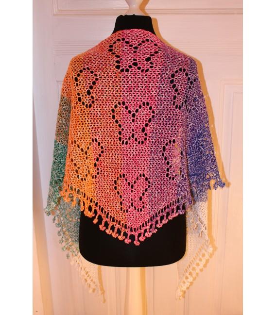 """Crochet Pattern shawl """"Zauber der Schmetterlinge"""" by Maike Ohlig - image 2"""