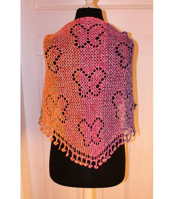 """Crochet Pattern shawl """"Zauber der Schmetterlinge"""" by Maike Ohlig - image 3"""