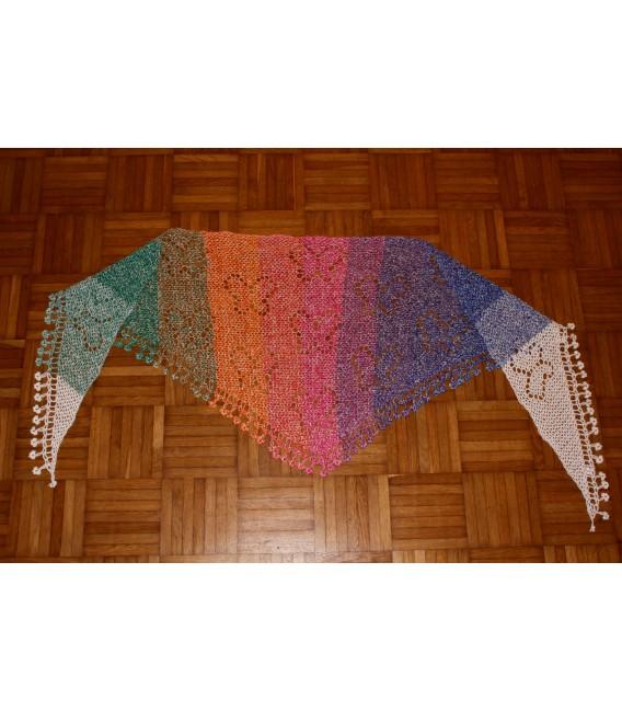 """Crochet Pattern shawl """"Zauber der Schmetterlinge"""" by Maike Ohlig - image 5"""