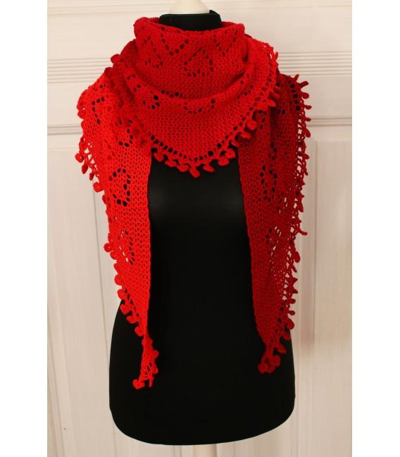 """Crochet Pattern shawl """"Zeichen der Liebe"""" by Maike Ohlig - image 1"""