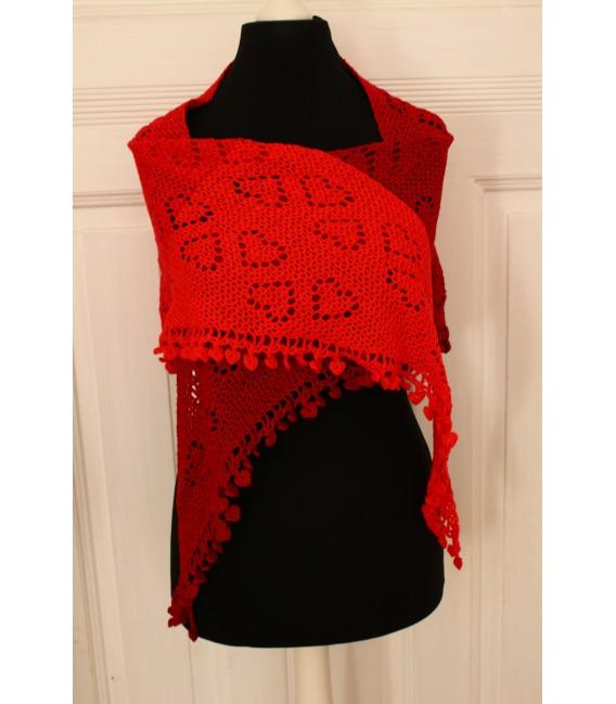 """Crochet Pattern shawl """"Zeichen der Liebe"""" by Maike Ohlig - image 2"""