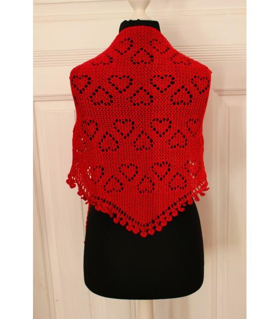"""Crochet Pattern shawl """"Zeichen der Liebe"""" by Maike Ohlig - image 3"""