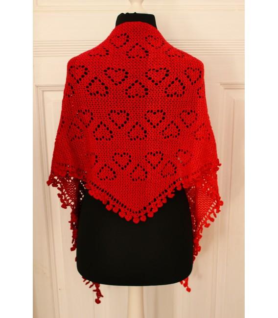 """Crochet Pattern shawl """"Zeichen der Liebe"""" by Maike Ohlig - image 4"""