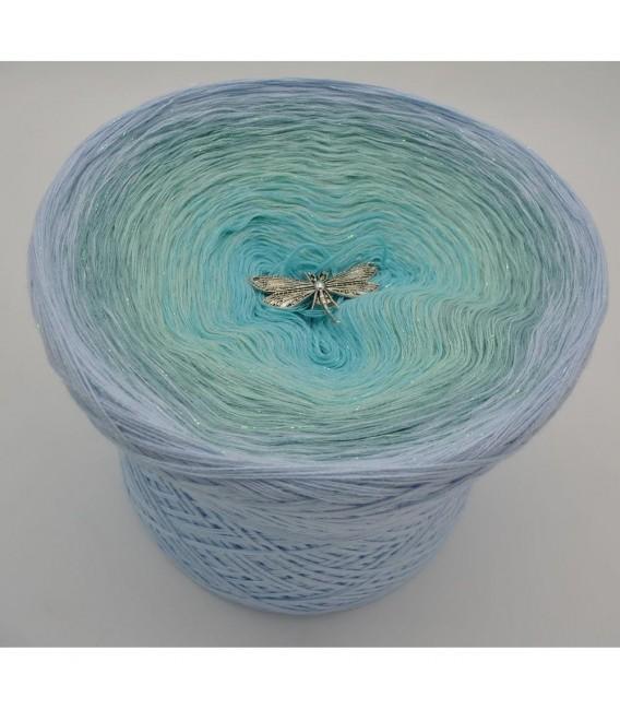 Wassertropfen - Farbverlaufsgarn 4-fädig - Bild 2