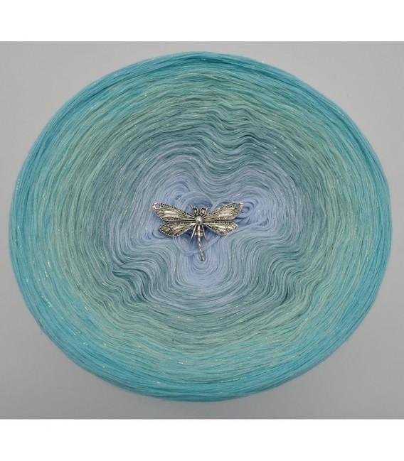 Wassertropfen (капли воды) - 4 нитевидные градиента пряжи - Фото 7