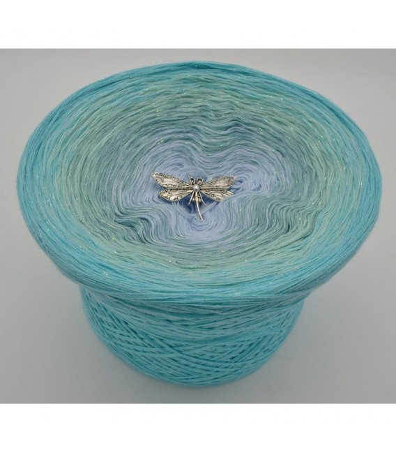 Wassertropfen - Farbverlaufsgarn 4-fädig - Bild 6