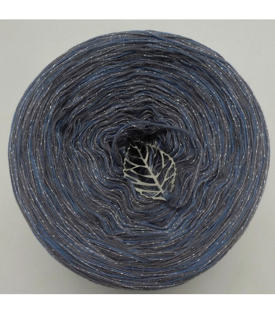 Lonely Wolf - 4 ply mottled yarn without gradient - image 2