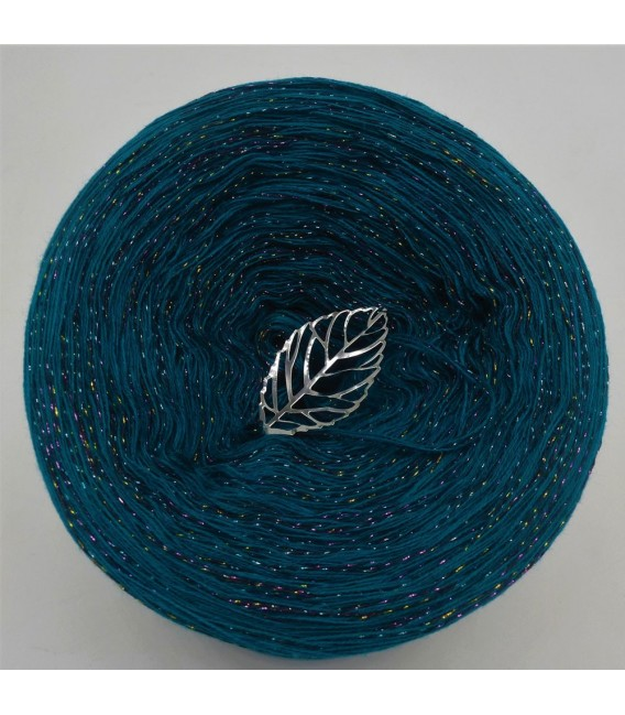 Dschungel Party (Jungle party) - 4 ply mottled yarn without gradient - image 2