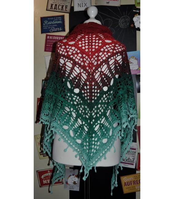 """Crochet Pattern shawl """"Tannenbäumchen"""" by Tanja Schuster - image 2"""