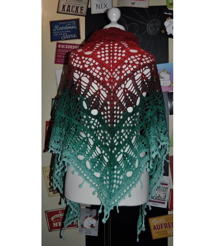 Tannenbaumchen Modele De Crochet Chale Lady Dee S Traumgarne Export