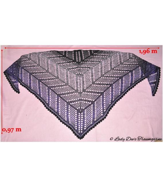 "Crochet Pattern shawl ""Zick Zerack"" by Tanja Schuster - image 2"