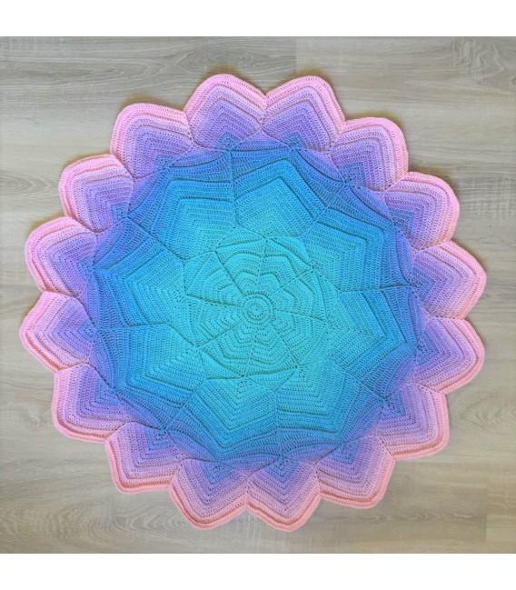 Baby Blue - Farbverlaufsgarn 4-fädig - Bild 1