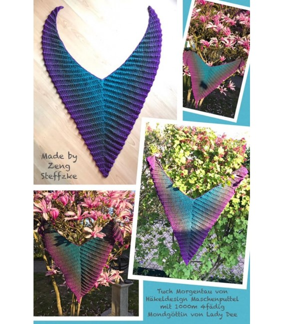 Mondgöttin (moon goddess) - 4 ply gradient yarn - image 1