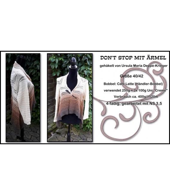 жилет - куртка «Don't Stop» Узор крючком от Ursula Deppe-Krieger - Фото 4