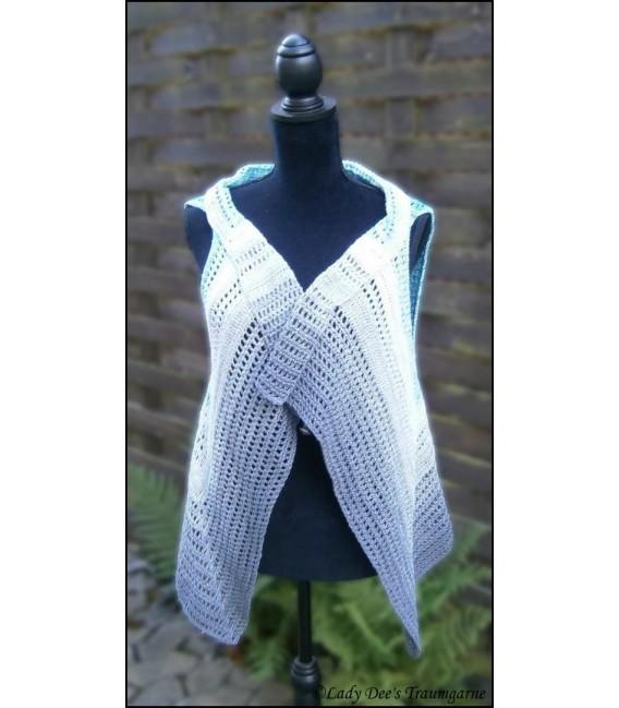 """modèle de crochet gilet - veste """"Don't Stop"""" de Ursula Deppe-Krieger - photo 3"""