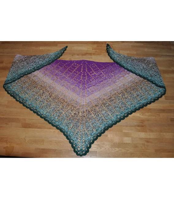 """modèle de crochet châle """"Mosaik"""" de Tanja Schuster - photo 2"""