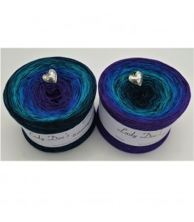 Cool Water - 4 ply gradient yarn