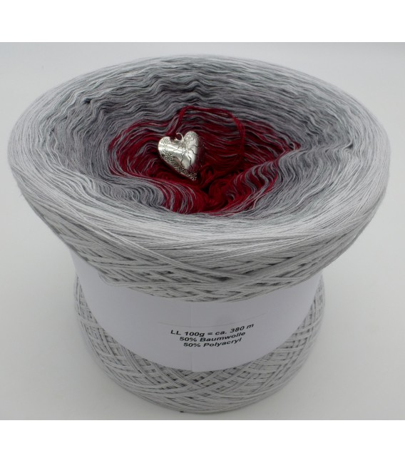 Silberschweif (Silver tail) - Color inside to choice - 4 ply gradient yarn - image 6