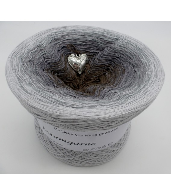 Silberschweif (Silver tail) - Color inside to choice - 4 ply gradient yarn - image 9