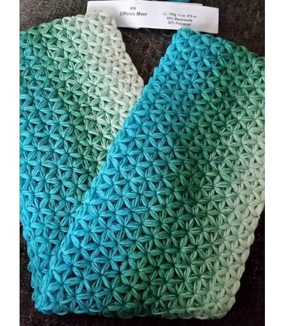 Offenes Meer (Open sea) - 4 ply gradient yarn - image 15