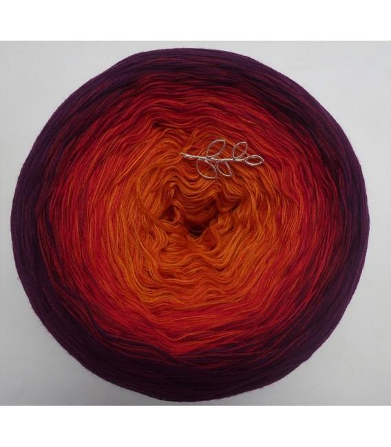 Herbstsonate - Farbverlaufsgarn 4-fädig - Bild 2