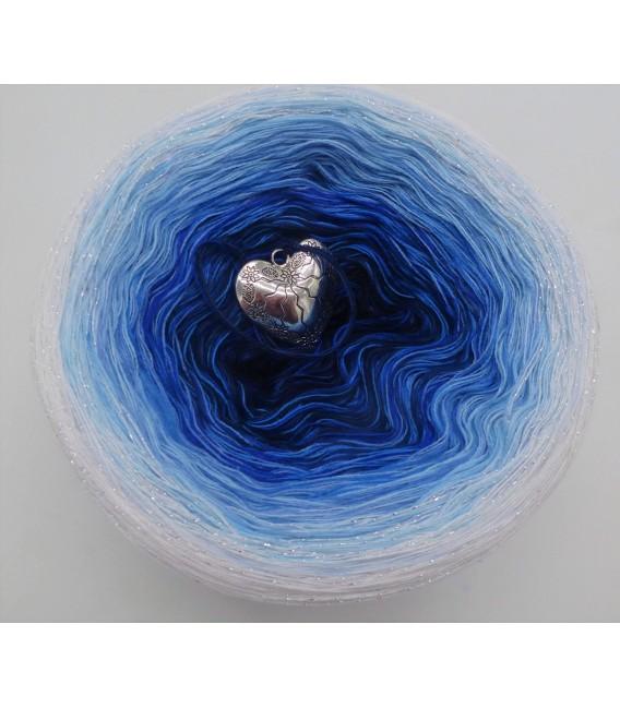 Blue Rain - Farbverlaufsgarn 4-fädig - Bild 5
