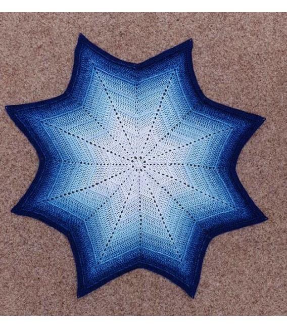 Blue Rain (Синий дождь) - 4 нитевидные градиента пряжи - Фото 7