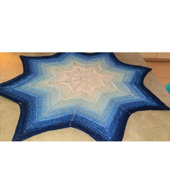 Blue Rain (Синий дождь) - 4 нитевидные градиента пряжи - Фото 8