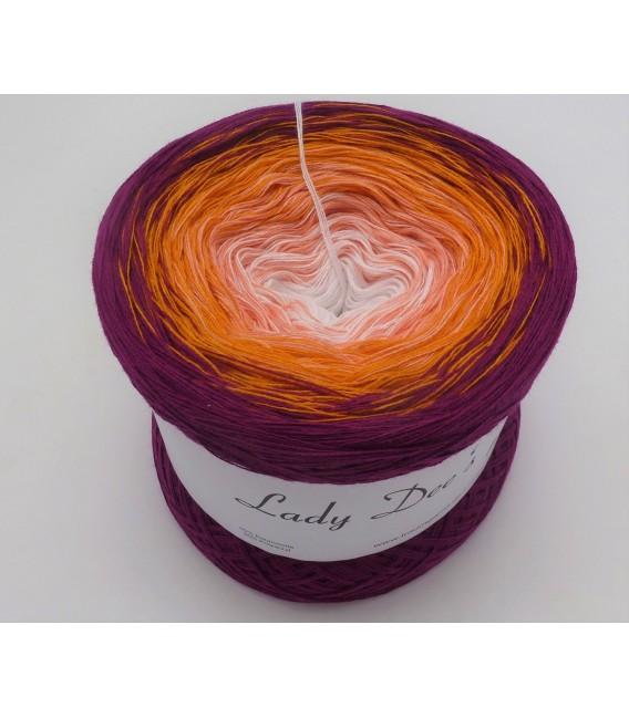 Blackberries in Love - 4 ply gradient yarn - image 2