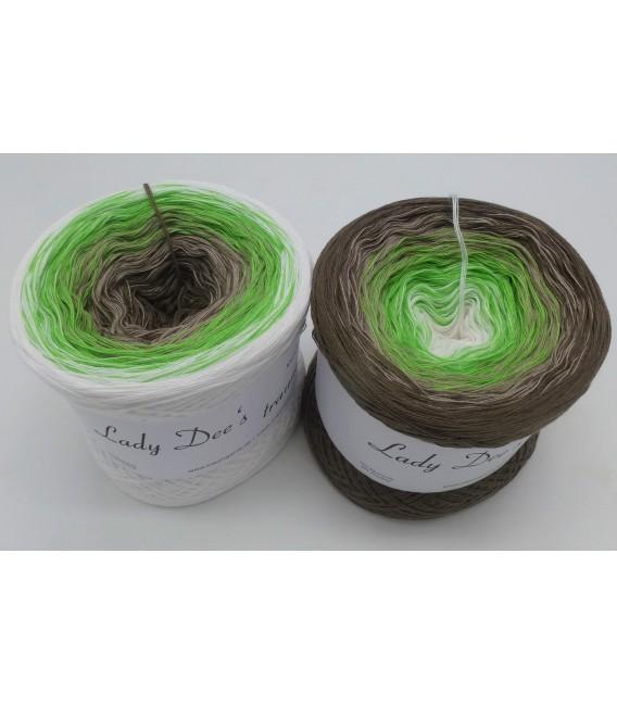 Waldzauber (Forest magic) - 4 ply gradient yarn - image 1