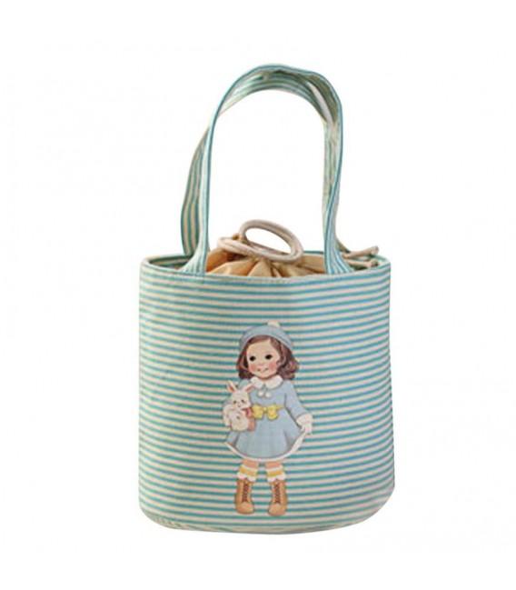 Utensilo - bobbel bag round with drawstring - girl - image 3