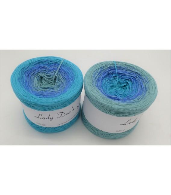 Wasserspiele (Water games) - 4 ply gradient yarn - image 1