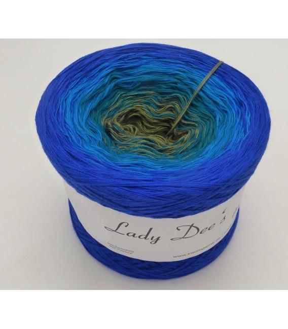 Blue Bird (Синяя птица) - 4 нитевидные градиента пряжи - Фото 2