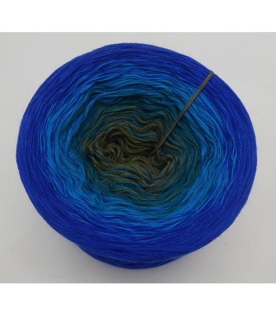 Blue Bird (Синяя птица) - 4 нитевидные градиента пряжи - Фото 3