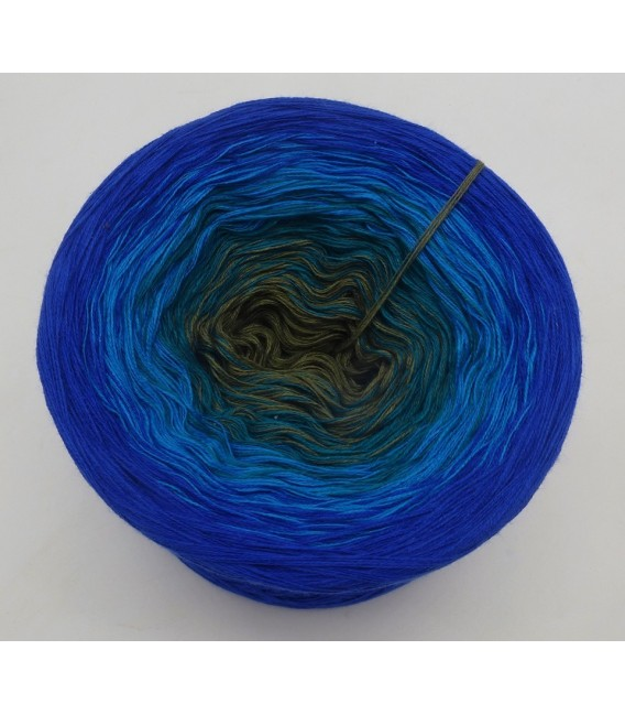 Blue Bird- 4 ply gradient yarn - image 3