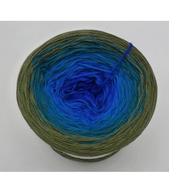Blue Bird (Oiseau bleu) - 4 fils de gradient filamenteux - Photo 5