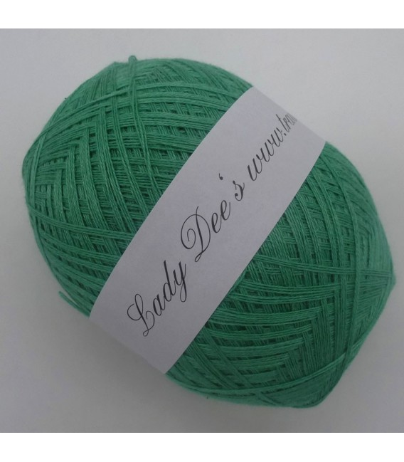 Lady Dee's Lace yarn - green melted - image 1