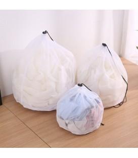 sac à linge avec cordon