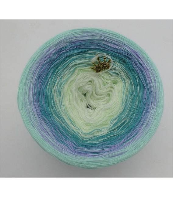 Blütenkranz - Farbverlaufsgarn 4-fädig - Bild 3