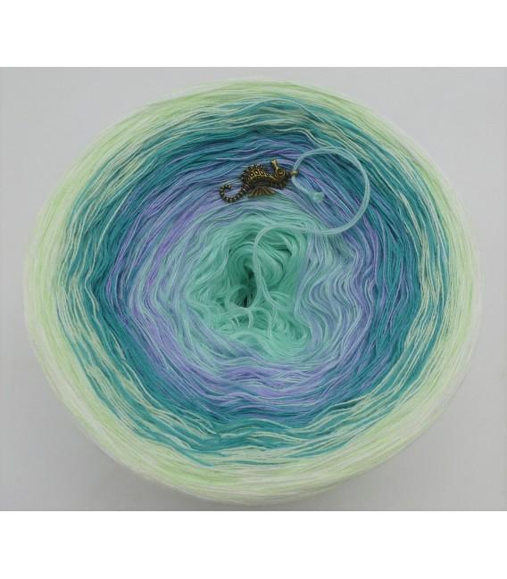 Blütenkranz - Farbverlaufsgarn 4-fädig - Bild 5