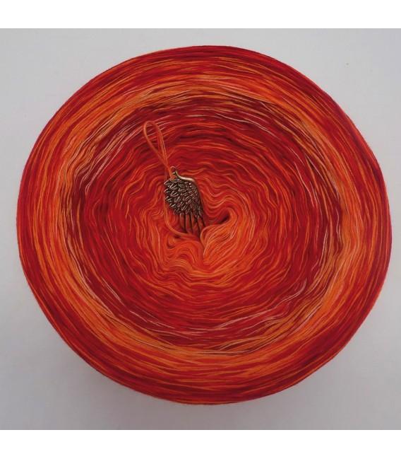 Strudel No. 4 (Swirl No. 4) - 4 ply gradient yarn - image 2