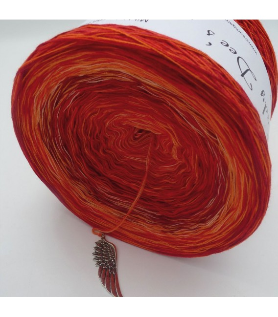 Strudel No. 4 (Swirl No. 4) - 4 ply gradient yarn - image 4
