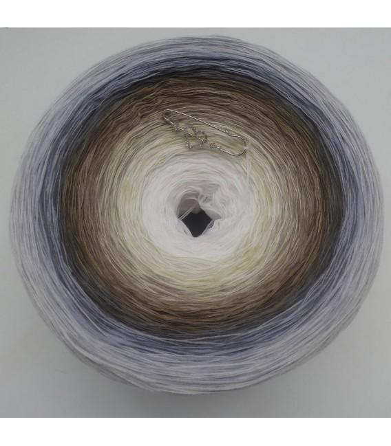 Coconut Gigantic Bobbel - 4 ply gradient yarn - image 2