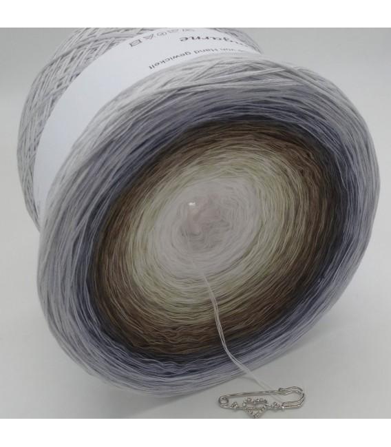 Coconut (Noix de coco) Gigantesque Bobbel - 4 fils de gradient filamenteux - Photo 3