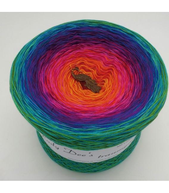 Paradiesvogel Megabobbel - Farbverlaufsgarn 4-fädig - Bild 1