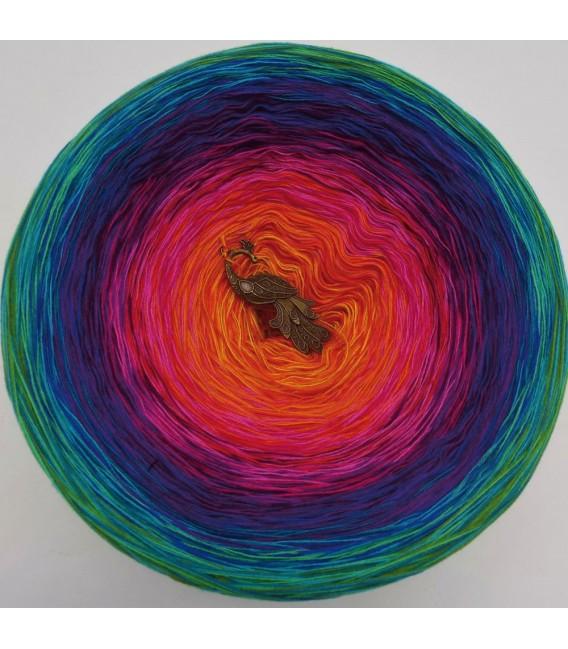 Paradiesvogel (Bird of paradise) Mega Bobbel - 4 ply gradient yarn - image 2