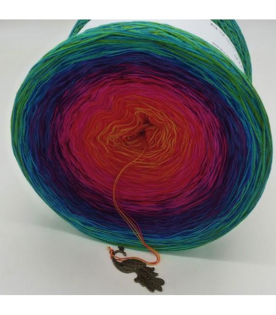 Paradiesvogel (Bird of paradise) Mega Bobbel - 4 ply gradient yarn - image 4