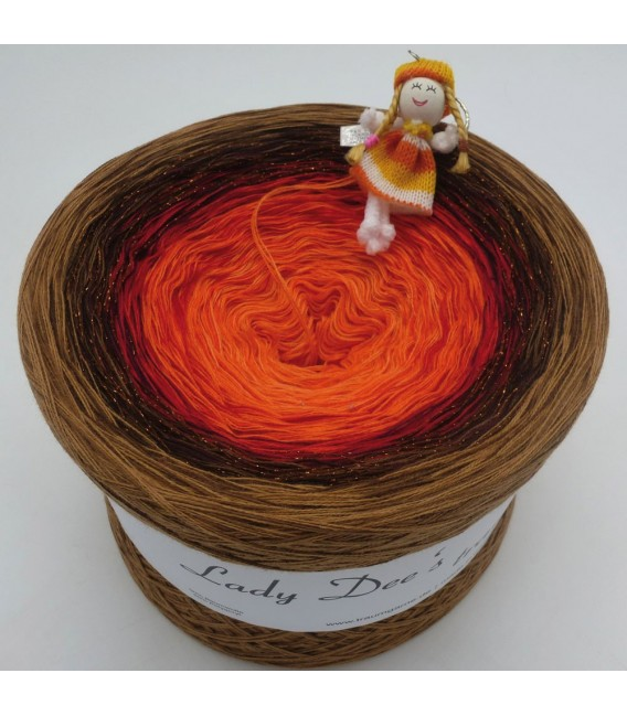 Feuerball (fireball) Mega Bobbel - 4 ply gradient yarn - image 1